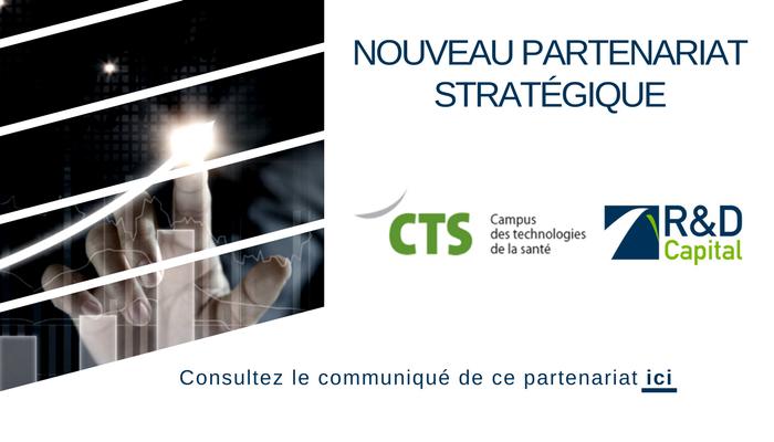 R&D Capital est heureuse de vous annoncer son nouveau partenariat avec le Campus de technologie santé (CTS)